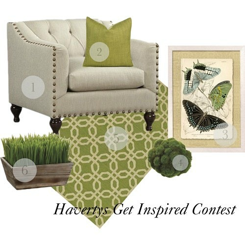 Havertys Get Inspired Contest #GetInspired
