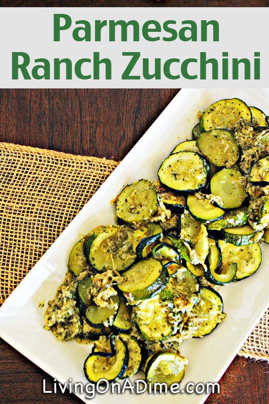 Parmesan Ranch Zucchini Recipe