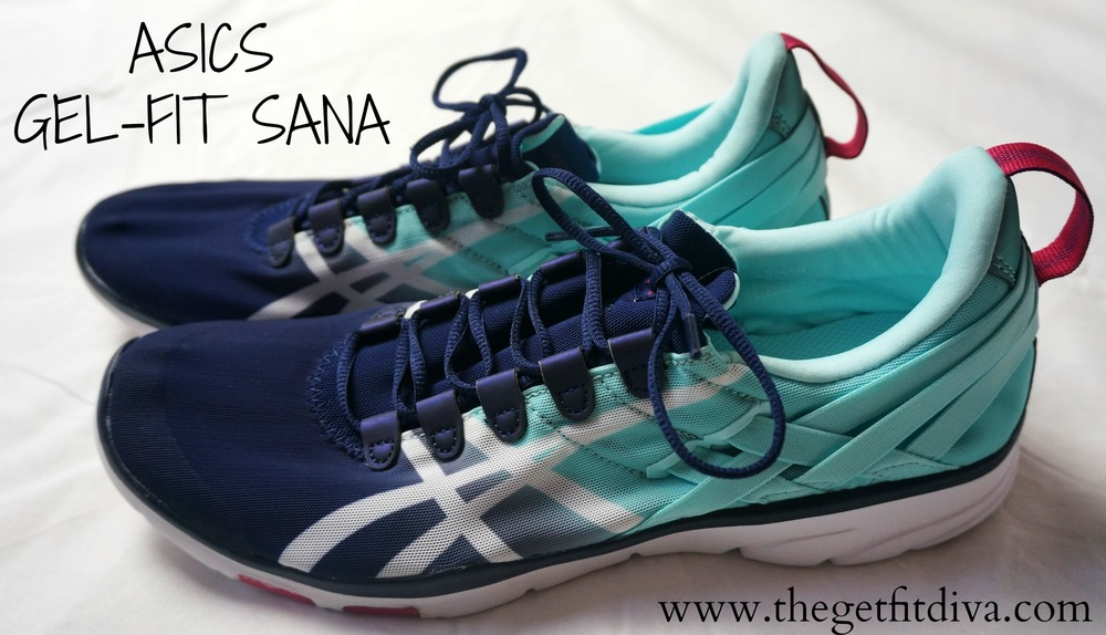 asics gel fit sana navy