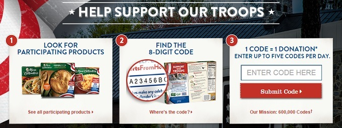 help support our troops