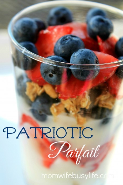 How to Make a Patriotic Parfait