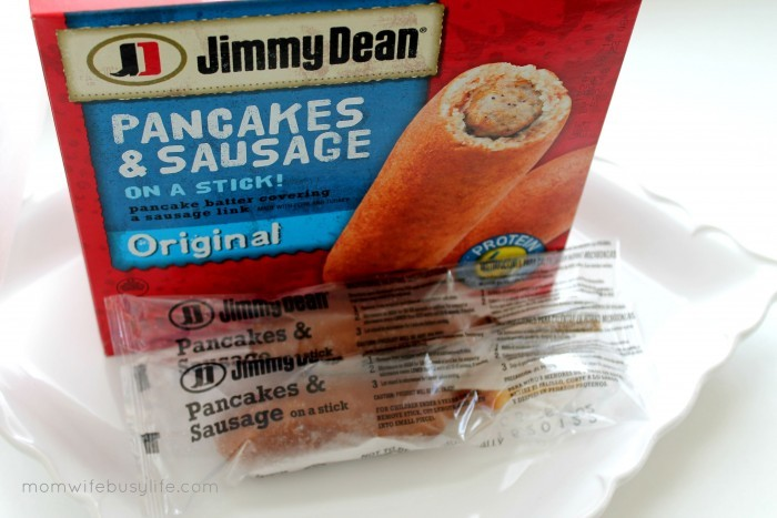Jimmy Dean pancakes and sausage