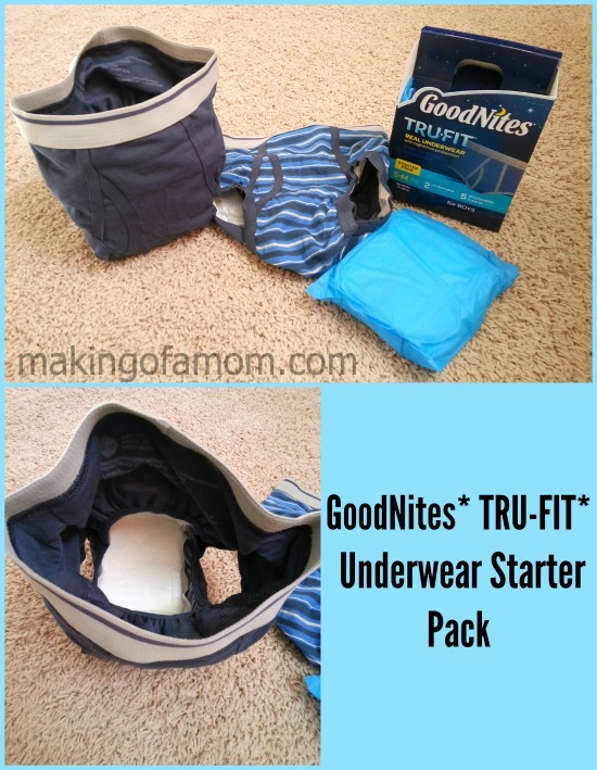 Goodnites Tru-Fit Real Underwear Specifically For Night Time-9053
