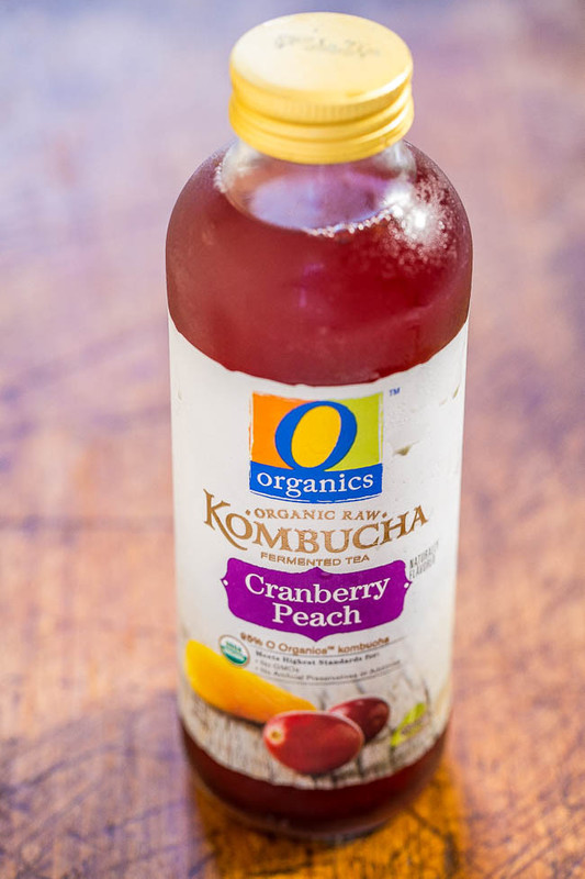 O Organics Kombucha