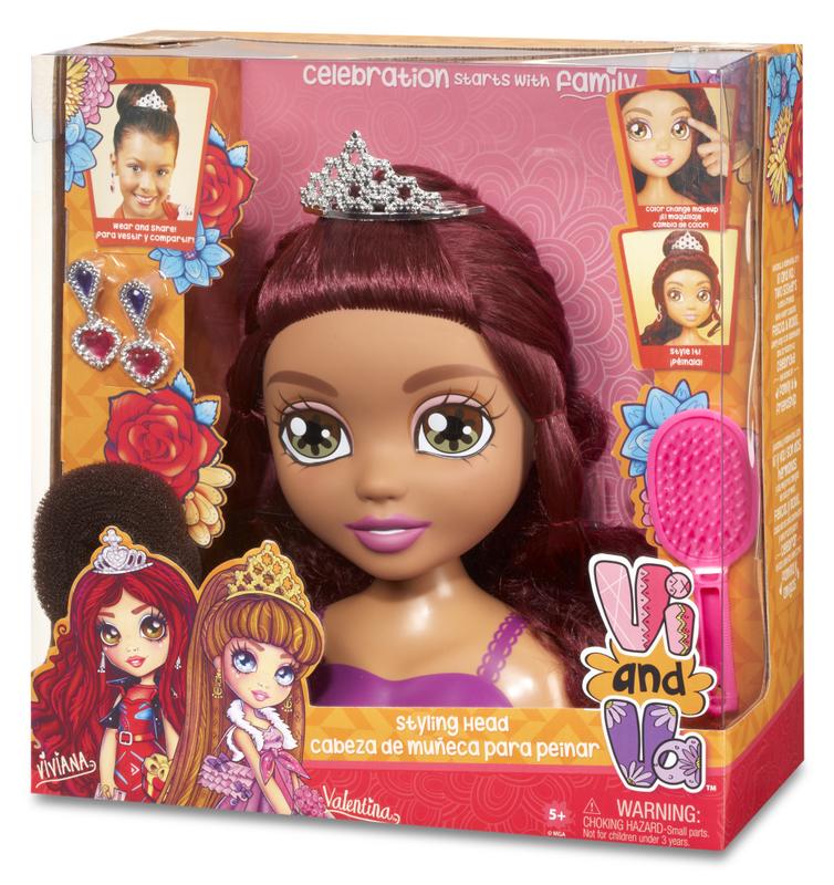 Vi and Va Styling Head Doll Vivana