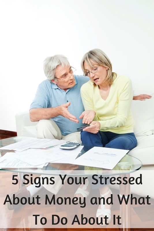 5 Signs Your Stressed About Money and How to De Stress