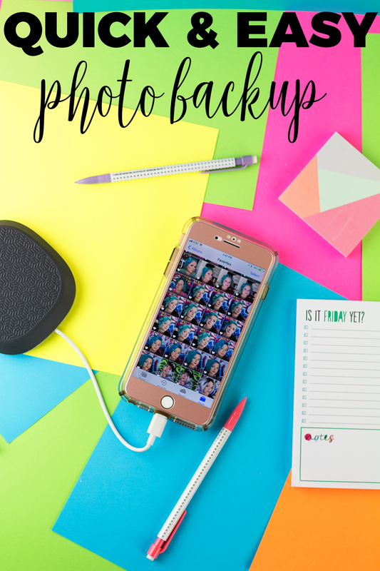 Quick & Easy Photo Backup