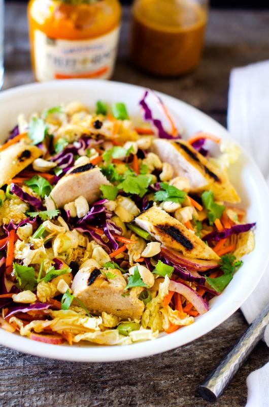 Grilled Chicken Mango Salad - WendyPolisi.com