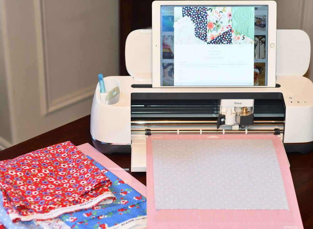 Joanns Premium Quilting Fabric ready to cut on Cricut Maker