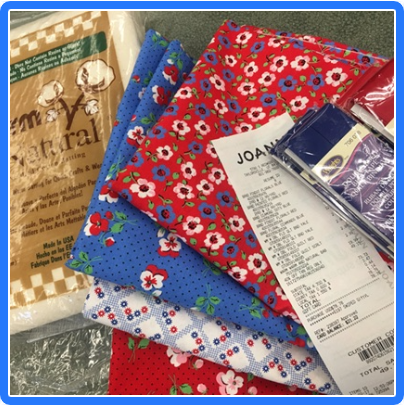 1930 Premium Quilting Cotton from Joann Quilt Shop purchase