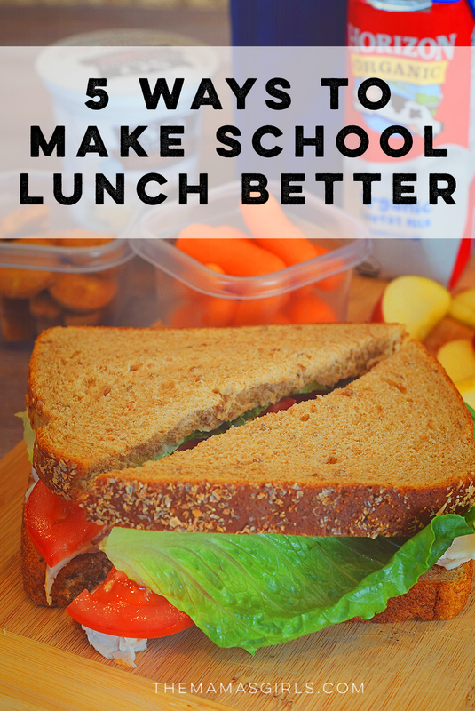 5 Ways to Make School Lunch Better