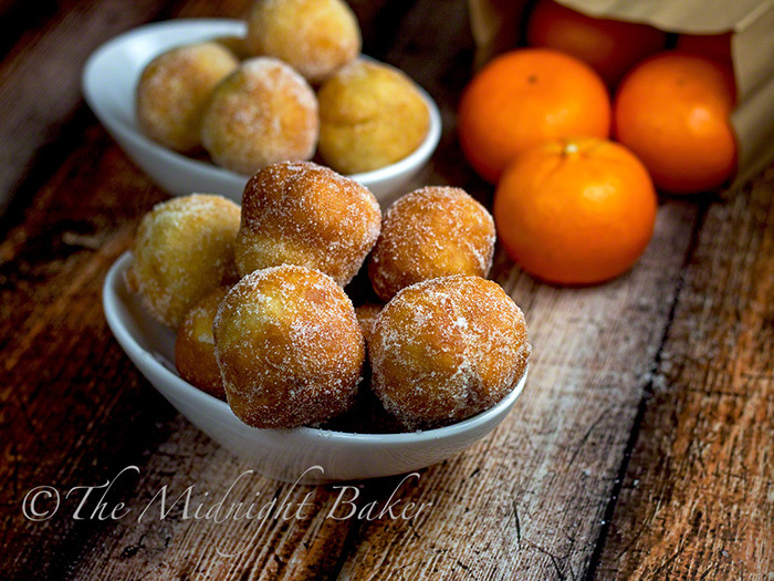 County Fair Fried Orange Dough Balls