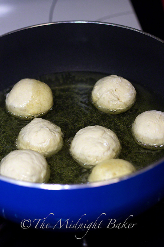 Frying Dough Balls