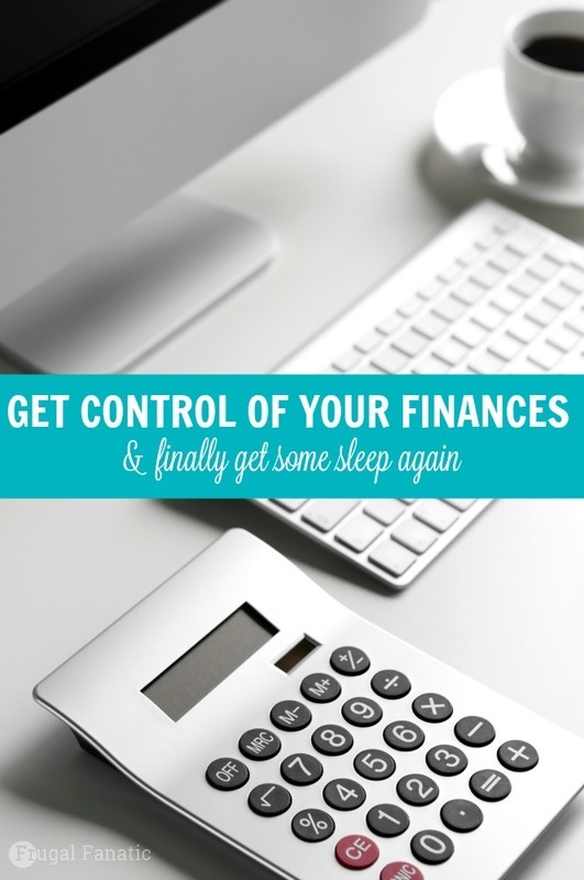 How to Get Control of Your Finances (and Get Some Sleep Again)