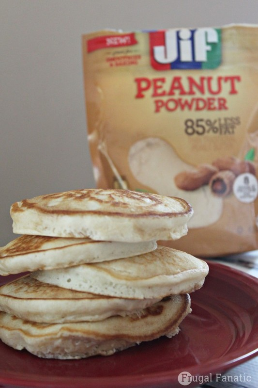 Try these delicious peanut butter pancakes for a breakfast your kids will love.