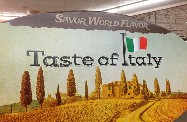 Kroger Taste of Italy Event