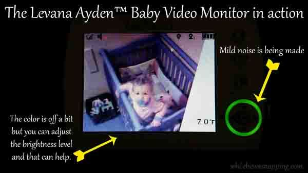 do more with levana ayden baby video monitor while he was napping. Black Bedroom Furniture Sets. Home Design Ideas