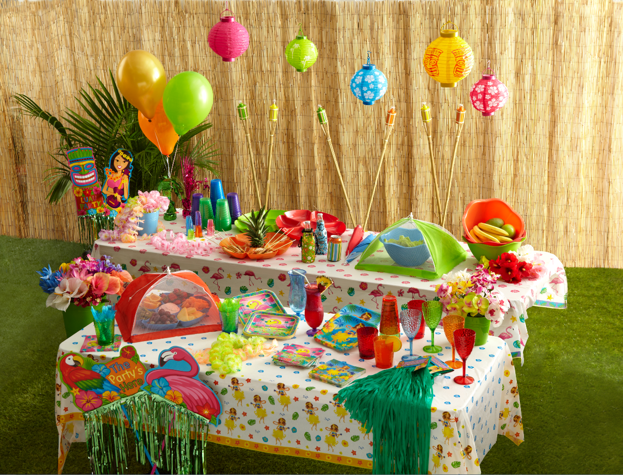 Summer Party Supplies From Dollar Tree Clever Housewife