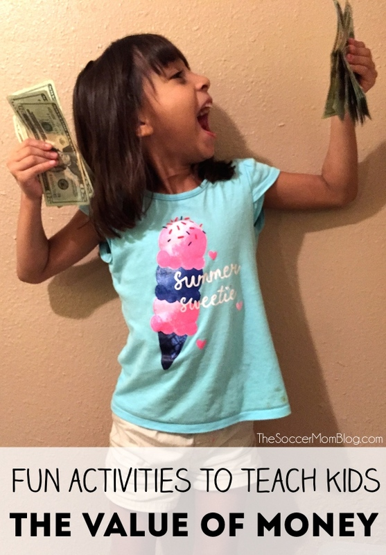 Two of my favorite activities to teach kids the value of money, while having fun at the same time! #BTFE #sponsored