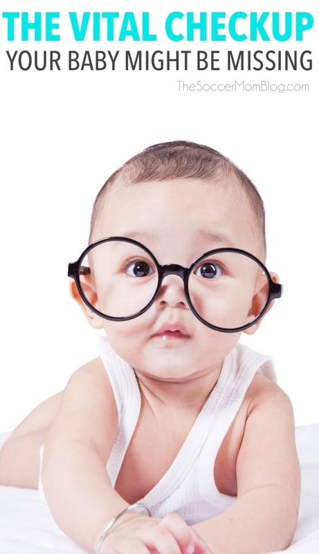 We had no idea that our baby should have gotten an infant eye assessment in her first year! Why it's so important and how your child can see an optometrist FREE.