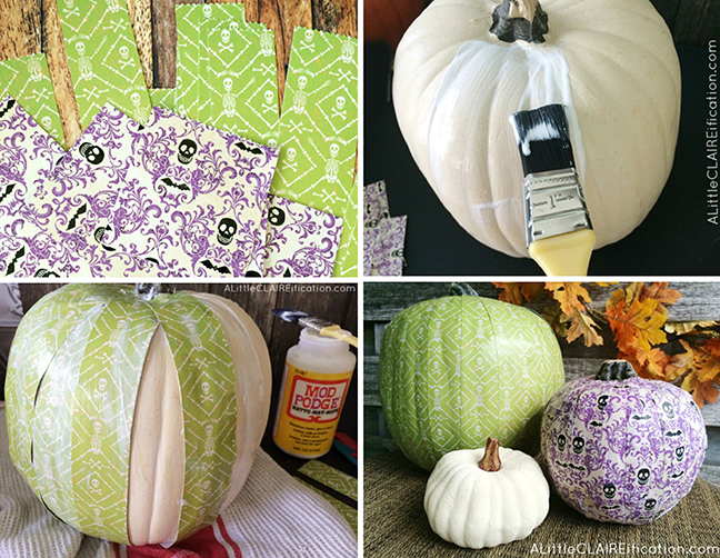diy-scrapbook-paper-pumpkins-halloween-crafts