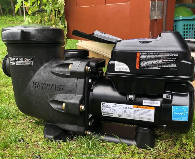 hayward tristar 950 VS pool pump omni smart control