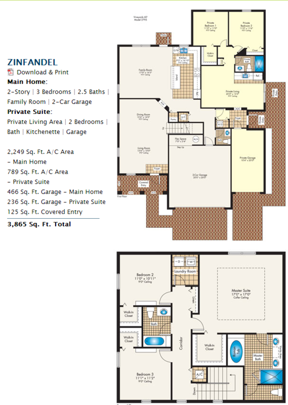 Next gen lennar homes avie home for Next gen homes floor plans