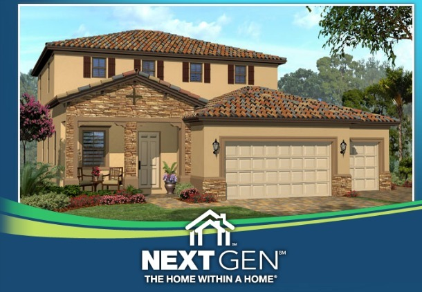 Think big lennar next gen homes underoneroof for Generation homes