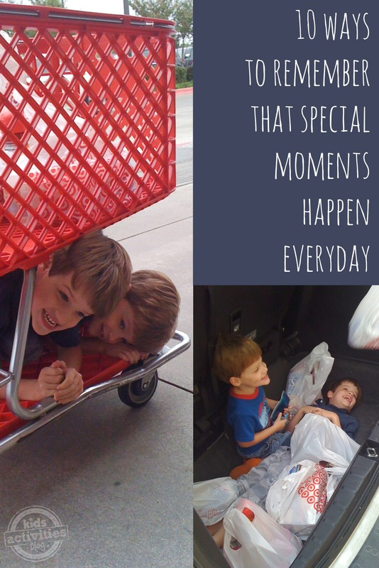 10 Ways to Remember the Special Moments Everyday