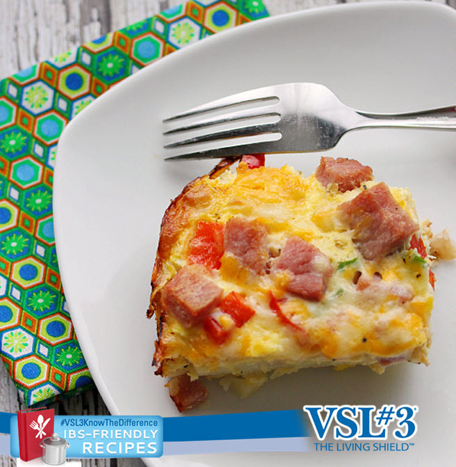 Hash Brown Quiche - A delicious and hearty breakfast to fill up your mornings.
