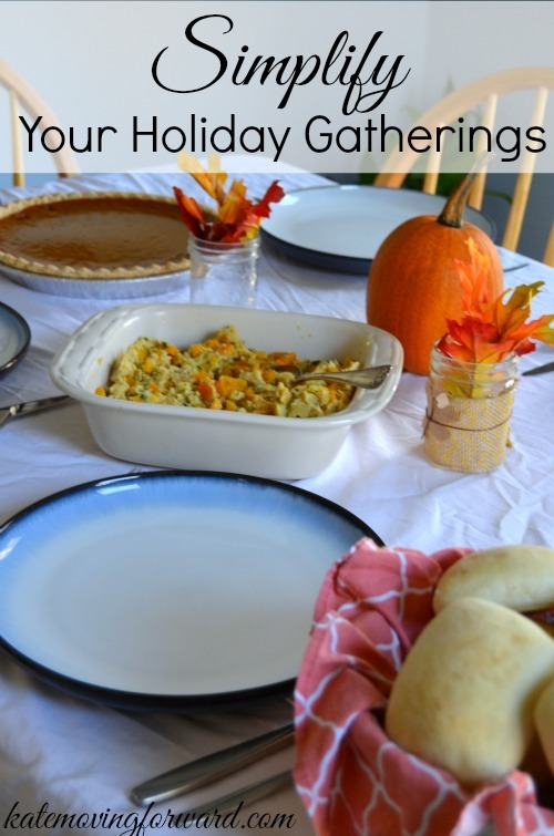 Simplify Your Holiday Gatherings