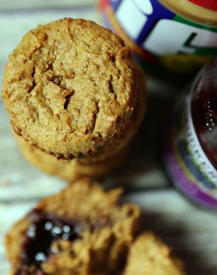 Peanut Butter and Jelly Muffins2