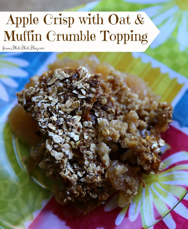Best Ever Apple Crisp with Oat & Muffin Crumble Topping