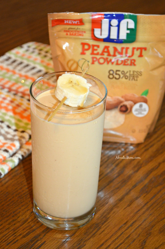 Caramel Peanut Butter Banana Smoothie Recipe