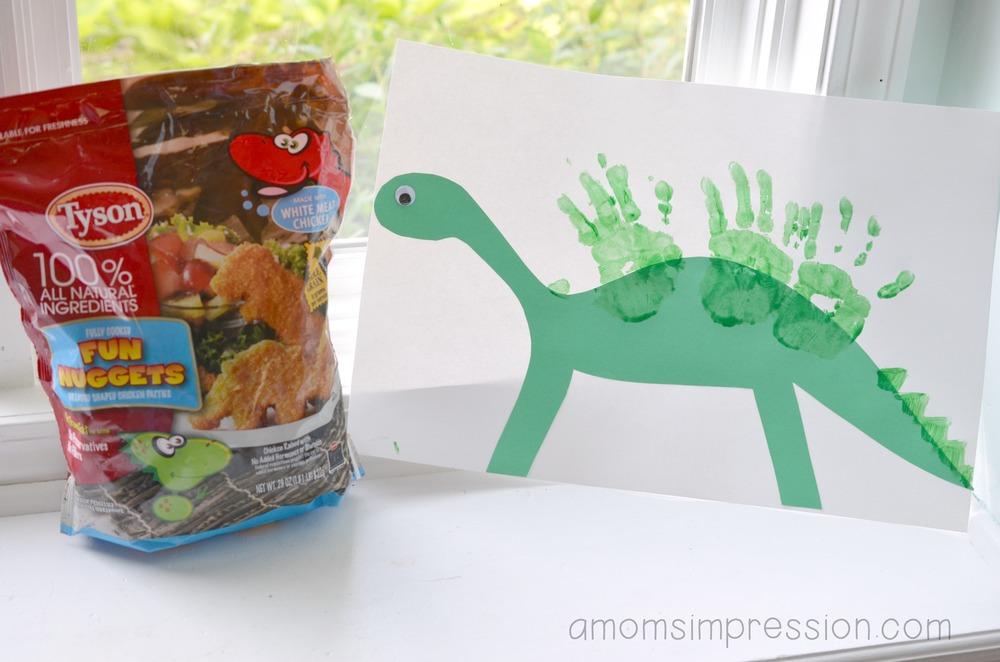 Tyson Dinosaur Nugget
