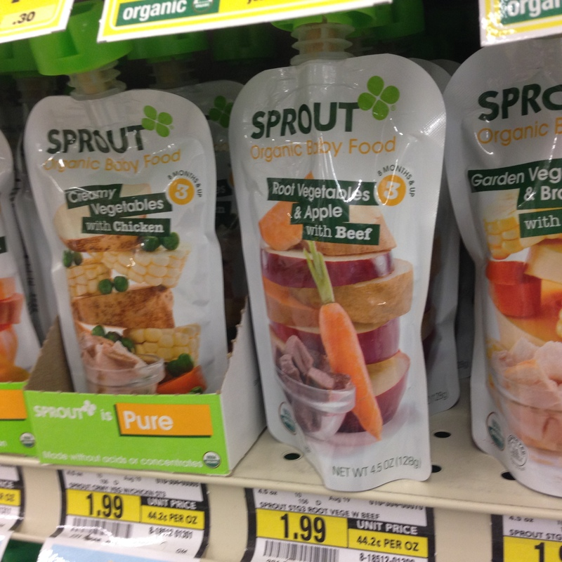 Sprout Baby/Toddler Food