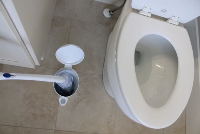 toilet wand