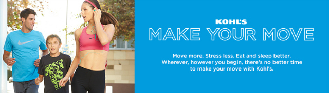 Kohl's #MakeYourMove Campaign