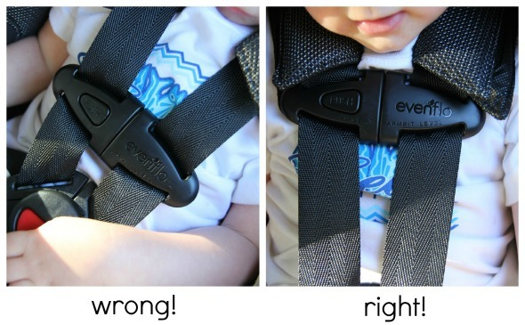 The Chest Clip Ensures Straps Are On Right Spot Childs Shoulders If Its Too Low Can Slide Off In A Crash