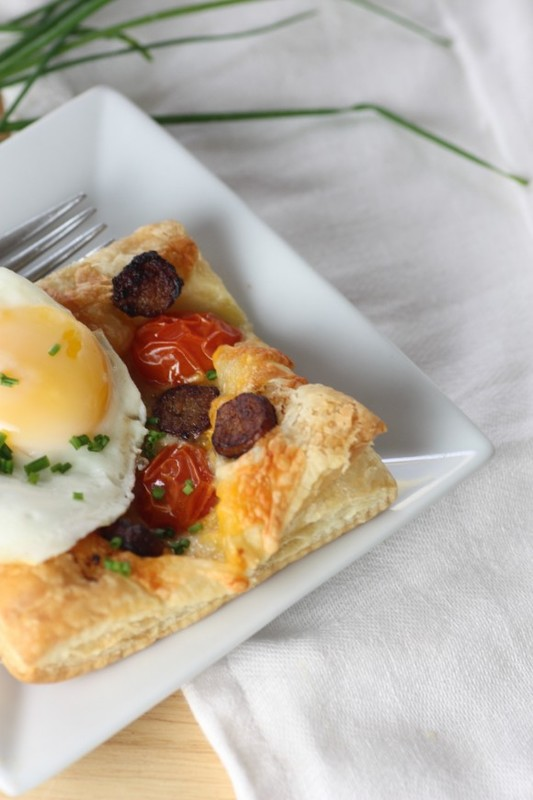 Sausage and Egg Breakfast Pastry Recipe   CatchMyParty.com