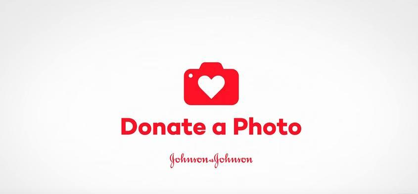 Donate a Photo, Johnson's, Johnson & Johnson, social good