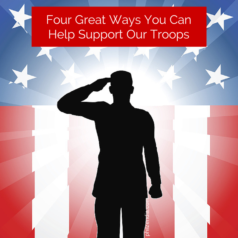 Four Great Ways You Can Help Support Our Troops