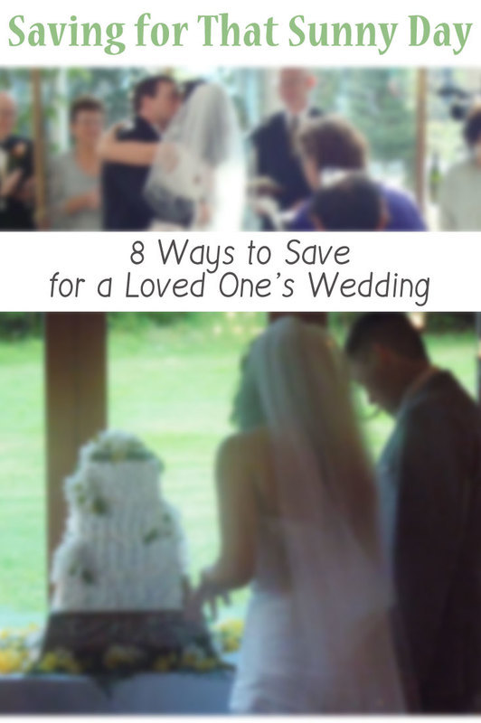 8 Ways to Save Money for a Wedding #mysunnyday