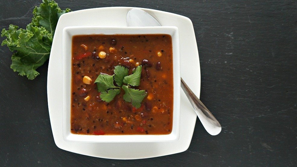 Campbell's Well Yes! Soup, Black bean and quinoa soup