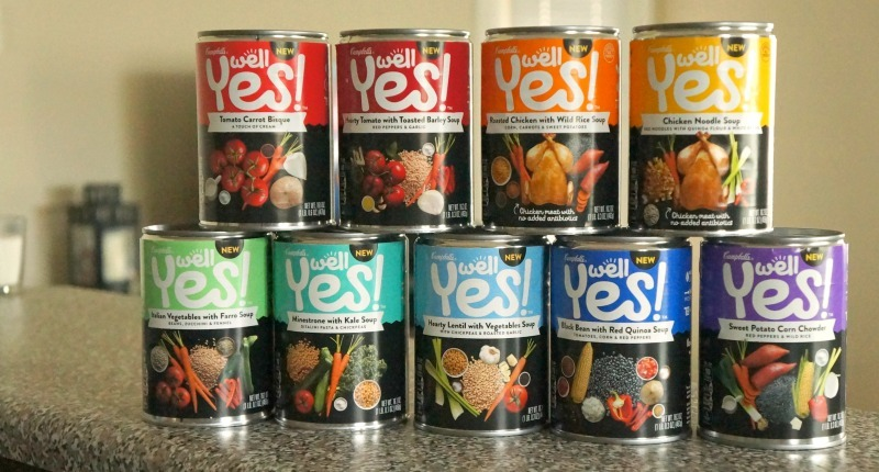 Campbell's WELL YES! soups line