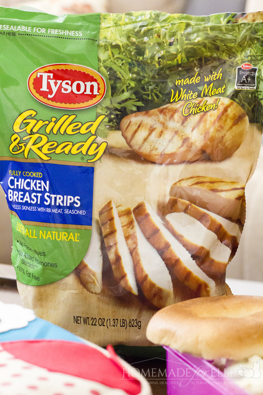 Tyson grilled and ready chicken breast strips