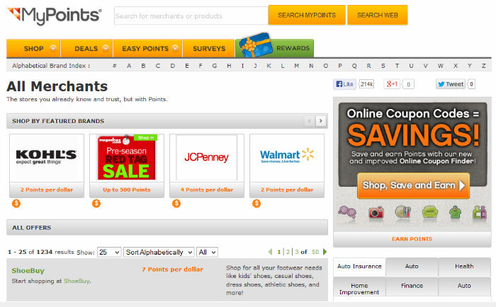 How to Use MyPoints Coupons