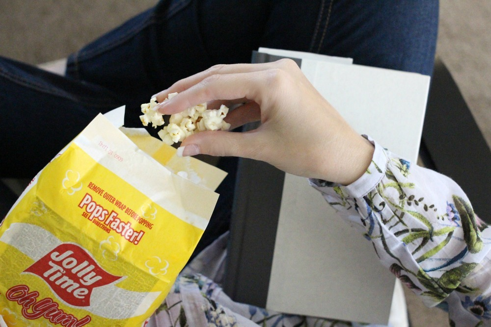 Weight Watchers has endorsed Jolly Time Popcorn as a snacking option for their program. These 100 calorie mini bags are perfect for a snack that is gluten free and extremely satisfying!