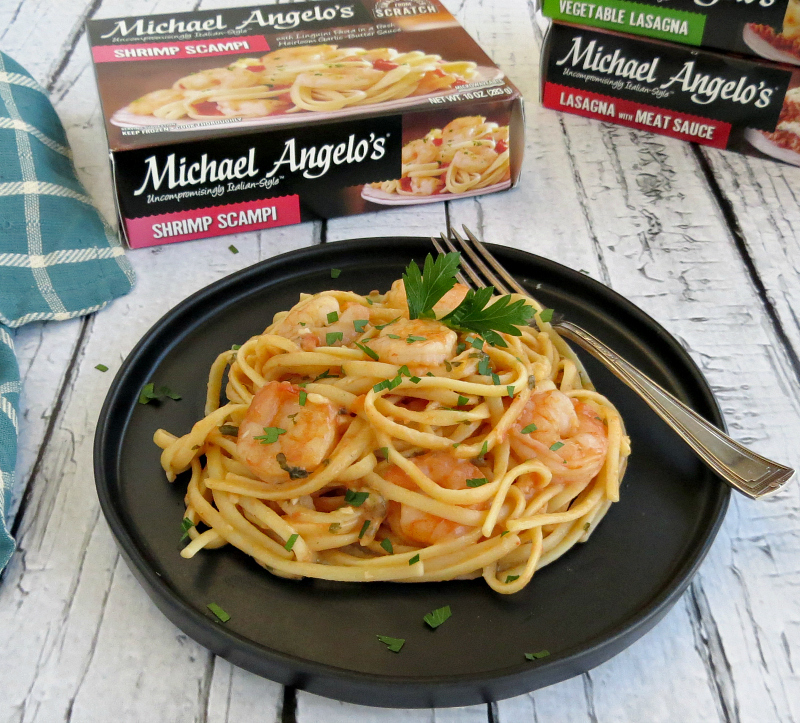 Michael Angelo's Shrimp Scampi Meal