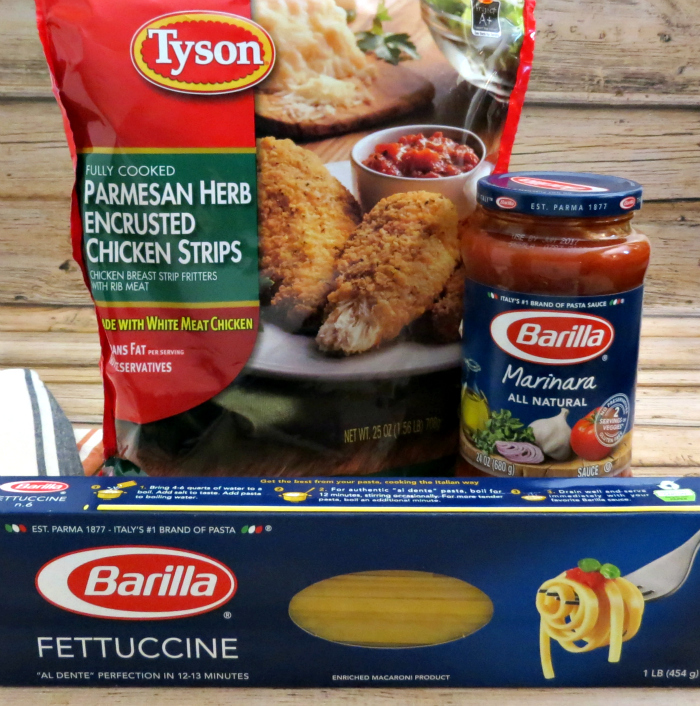 Meals Made Easy with Tyson and Barilla